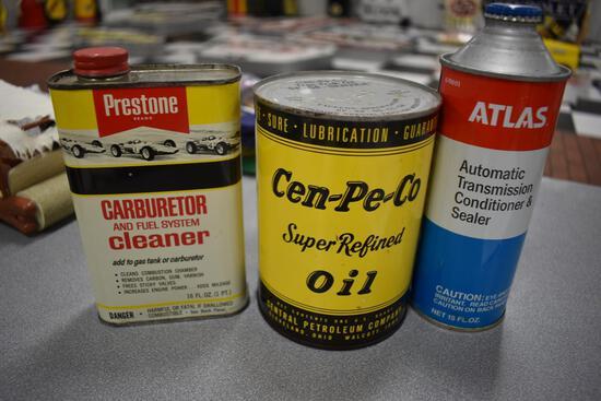 (3) automotive cans