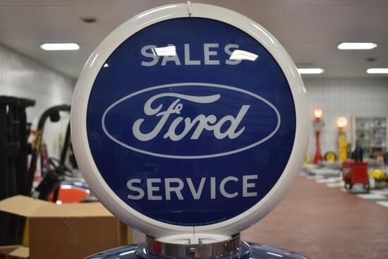 Ford Sales & Service double-sided globe