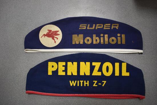 (2) automotive caps