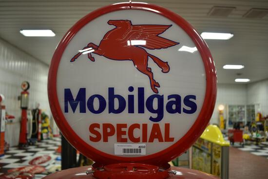 Mobilgas Special double-sided globe