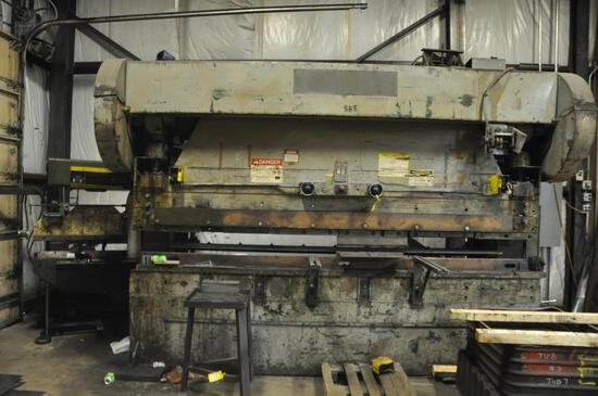 Cyril Bath 150 ton press brake