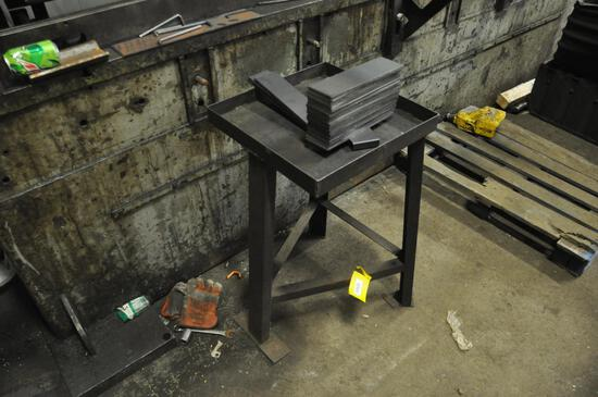"""32"""" tall x 18"""" work table"""