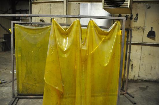 (3) welding screens