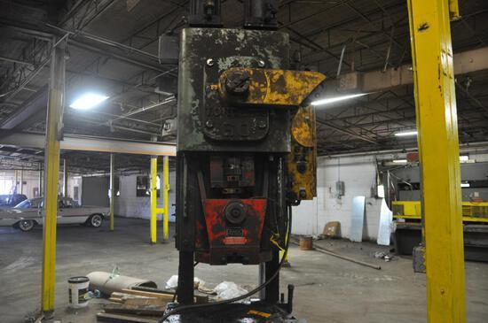 Clearing OBI press