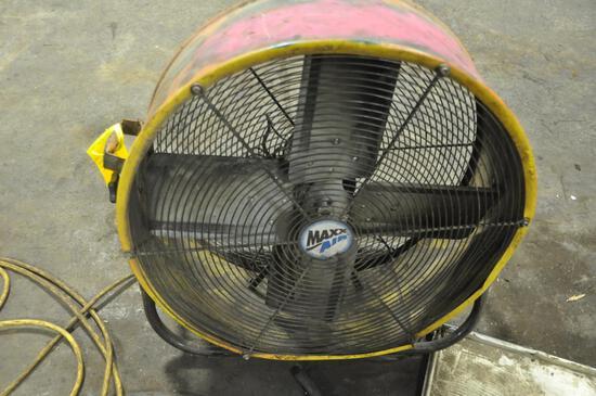 """Maxx Air 25"""" diameter industrial fan"""