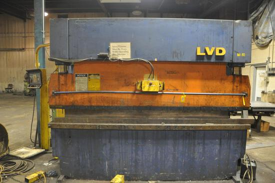 1984 LVD 10' brake model 110-BH-10N