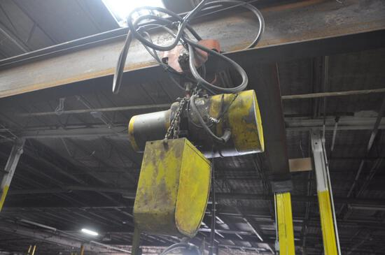 Dresser model 310980-1 overhead crane/winch