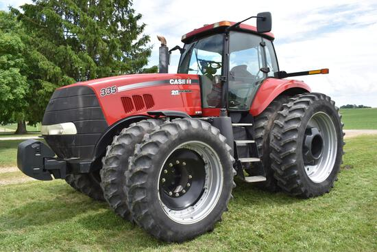 Case IH 335 Magnum MFWD tractor
