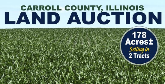 Carroll County, IL Land Auction
