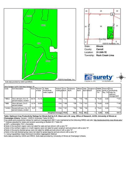 Tract 1 - 80 Taxable Acres+/-