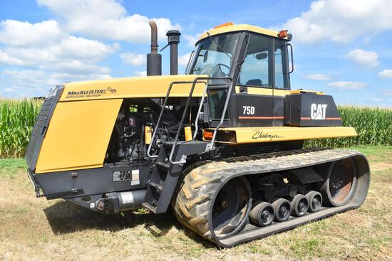 1997 Cat 75D track tractor