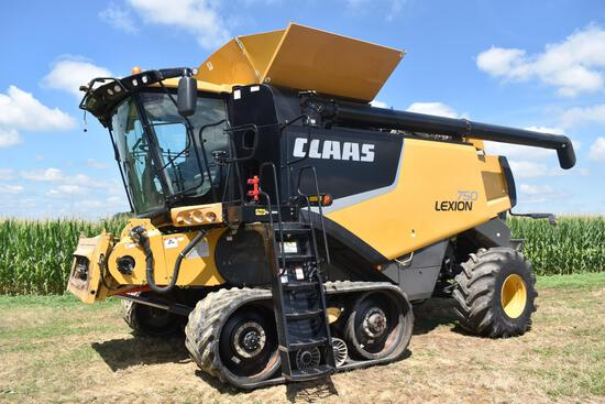 2011 Claas Lexion 750 4wd combine
