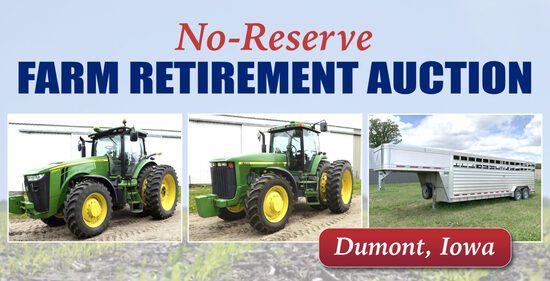 No Reserve Farm Retirement Auction