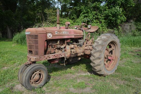1951 Farmall M NF tractor