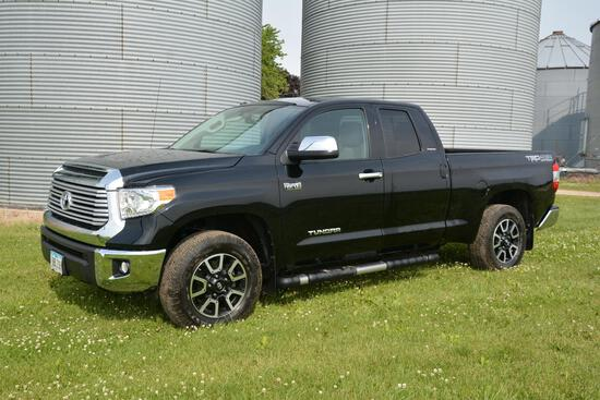 2014 Toyota Tundra 4wd 4 door Limited pickup