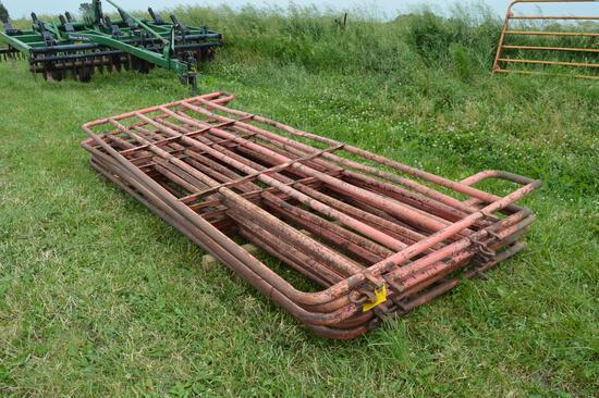 Quantity of pipe gates