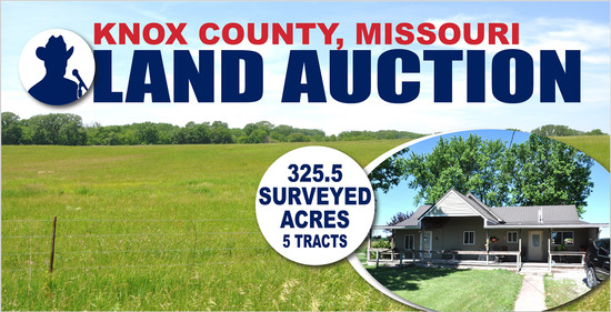 Knox County, MO Land Auction