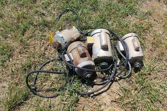 (4) electric motors