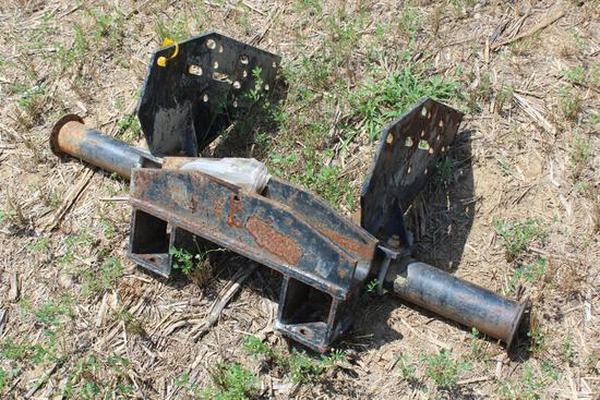 Bush Hog loader brackets
