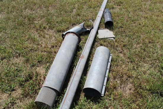 """4"""" auger & misc. piping"""