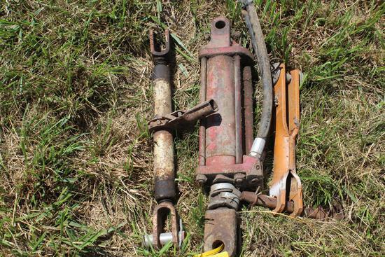 Hyd. cylinder, cylinder lockup & ratchet cylinder