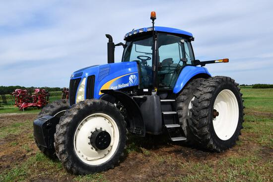 2005 New Holland TG275 MFWD tractor
