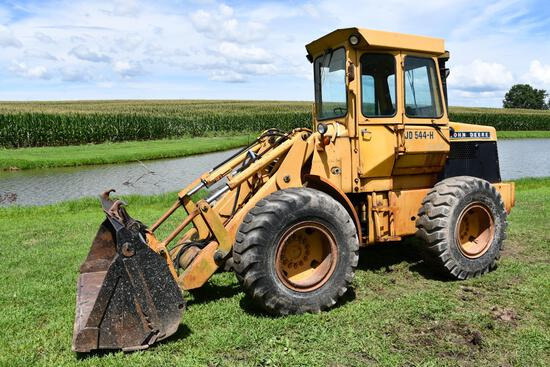 John Deere 544-H wheel loader