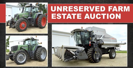Unreserved Farm Estate Auction