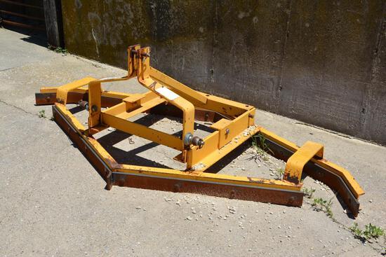 AgriTek 8' 3-pt driveway scraper