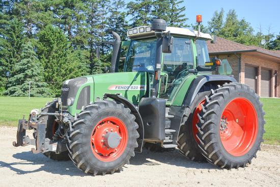 2008 Fendt 820 MFWD tractor