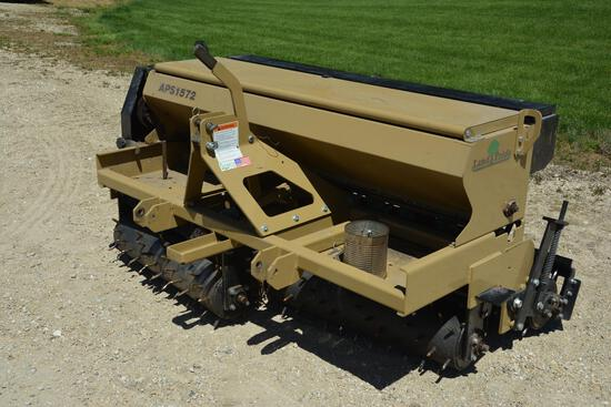 "Land Pride APS1572 72"" 3-pt. seeder"