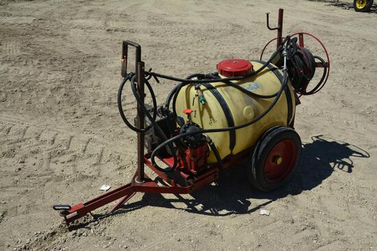Hardi TR53 53 gal. pull type lawn sprayer