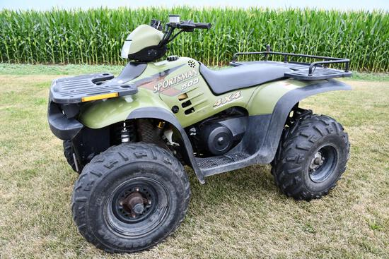 1997 Polaris Sportsman 500 4WD ATV