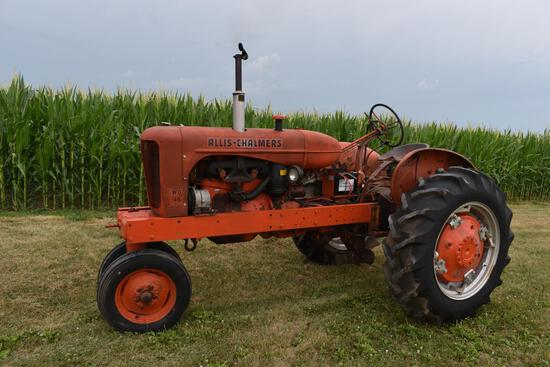 1954 Allis Chalmers WD 45 tractor