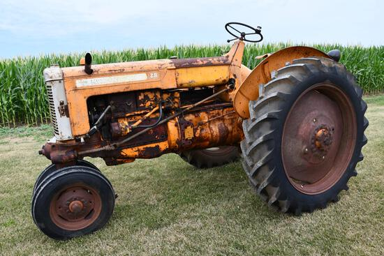 1954 MM ZB tractor