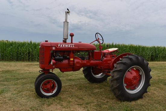 1942 Farmall B tractor