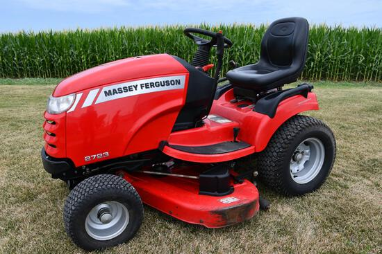 MF 2723 riding lawn mower