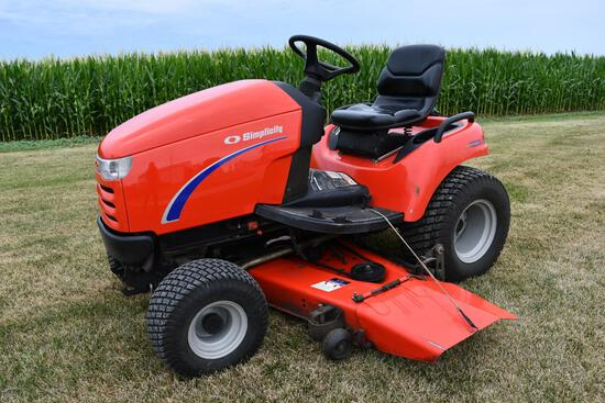 2000 Simplicity 25HP riding lawn mower