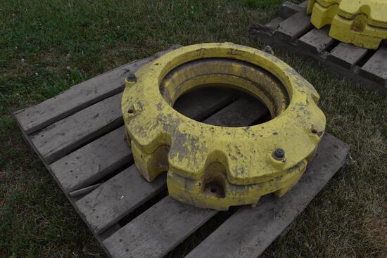 (2) JD rear wheel weights