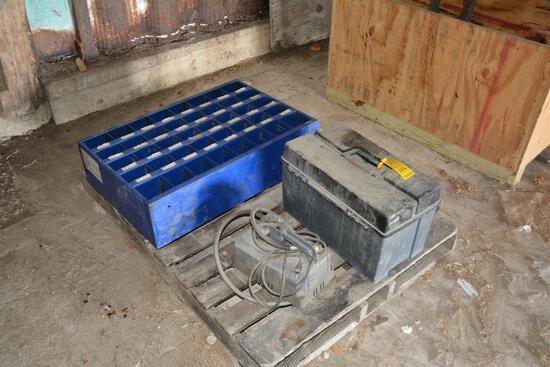 Aeroquip FT1310 Mini-Crimp machine