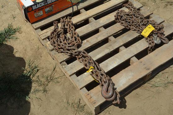 18' log chain