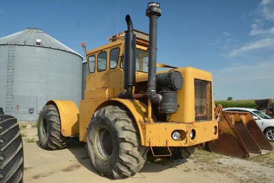 Wagner WA14 4wd tractor