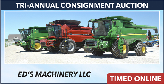 Ring 1: Ed's Machinery Tri-Annual Consignment