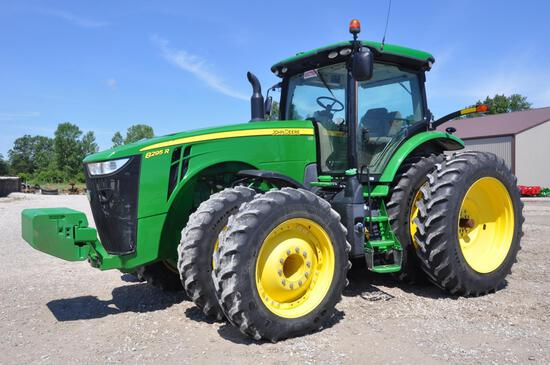 2015 JD 8295R MFWD tractor