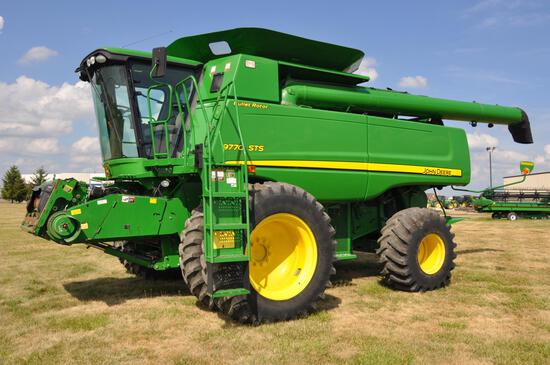 2008 JD 9770STS 2wd combine