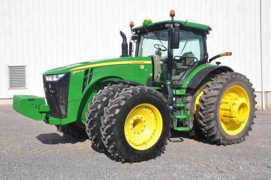 2018 JD 8345R MFWD tractor