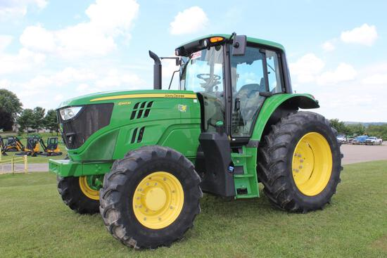 2017 JD 6145M MFWD tractor
