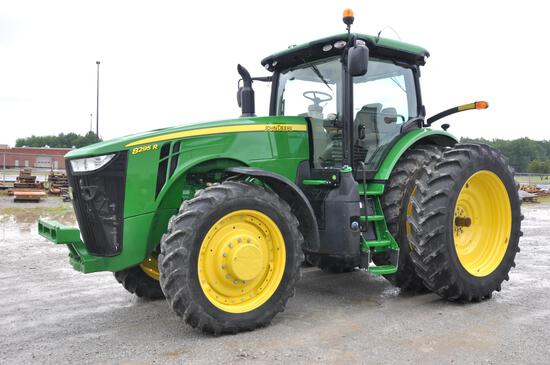 2016 JD 8295R MFWD tractor