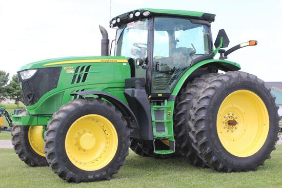 2014 JD 6170R MFWD tractor