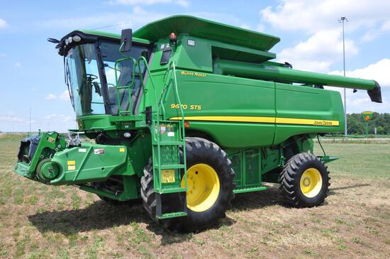 2010 JD 9670STS 2wd combine